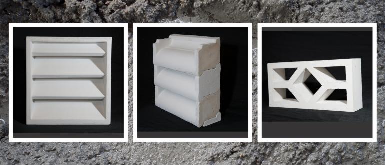 Precast Concrete Louver Vent Blocks Acp