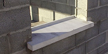Concrete Window Sills